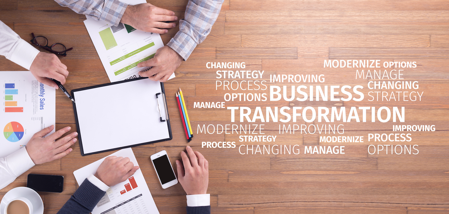 Business Transformation: leaderhip change the culture with people change and and process improvement